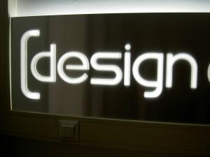doorgestoken verlichte acrylaat letters