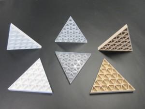 onderdelen maquette